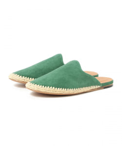 JVAM / COW SUEDE SLIPPER