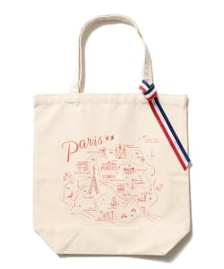 BEAMS LIGHTS / PARIS MAP TOTE
