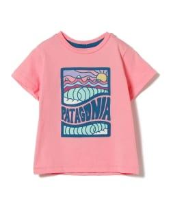 e8e117b99cbbc patagonia   ベビー グラフィック Tシャツ 19 (1~5才)