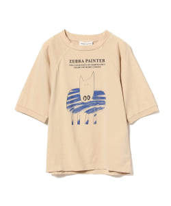 BOBO CHOSES / Zebra Paint Tシャツ 20(2~11才)