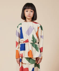 BOBO CHOSES /  girl shirt 20(2~11才)