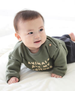 organic zoo / Sweat shirts(6ヵ月~4才)▲
