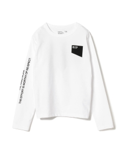 RE/SP / ロゴ ロングスリーブ Tシャツ 19 (130~150㎝)