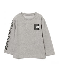 THE NORTH FACE / ロングスリーブ スクエア ロゴTシャツ 20(100~150cm)