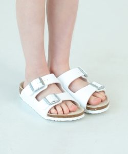 BERKENSTOCK / ARIZONA WHITE KIDS 19 (18~22㎝)