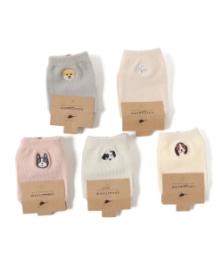 KOKACHARM / Bow wow sox set 19(13~20cm)