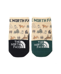THE NORTH FACE / Baby プリント ソックス 2P 21(13~15cm)