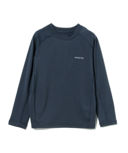 patagonia / ボーイズ ロングスリーブ シルクウェイト ラッシュガード 19 (5~12才)