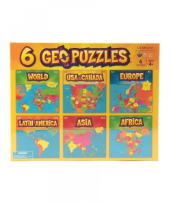 GeoToys / 6 Puzzles