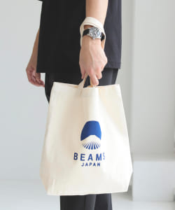 evergreen works × BEAMS JAPAN / 別注 LOGO 托特包