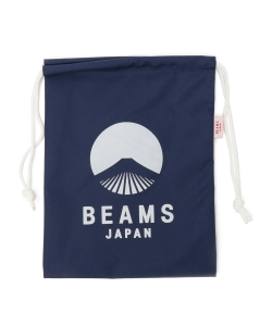 evergreen works × BEAMS JAPAN / オリジナル ナイロン 巾着 S