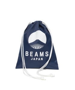 evergreen works × BEAMS JAPAN / オリジナル ナイロン 巾着 バック S
