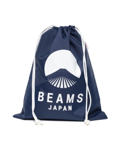 evergreen works × BEAMS JAPAN / オリジナル ナイロン 巾着 バッグ M