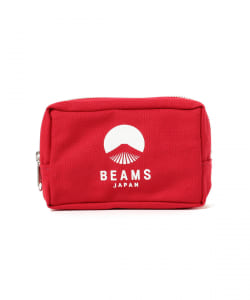 evergreen works × BEAMS JAPAN / 別注 ロゴ ポーチ M