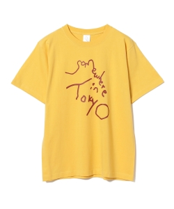 Somewhere in Tokyo / 五木田智央 ロゴ Tシャツ