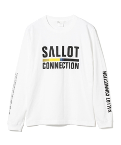 SALLOT × TOKYO CULTUART by BEAMS / CONNECTIONロングスリーブ Tシャツ