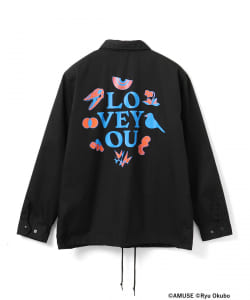 "星野源 / ""LOVE YOU"" Coach jacket"