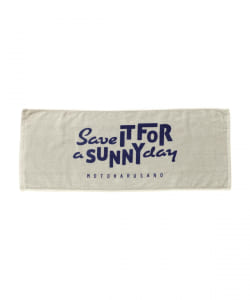 佐野元春 / SAVE IT FOR A SUNNY DAY  Towel