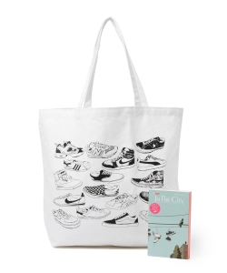 IN THE CITY / Sneaker Blues Tote Bag Set