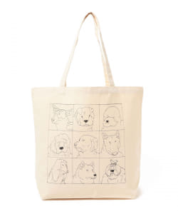 櫻井万里明 / DOGGY SKETCH 001 Tote