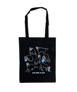 HONGAMA / Face in Cup Tote bag