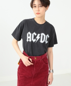 GOOD SPEED / white Logo ACDC Tee▲