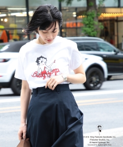 GOOD SPEED / Betty Boop Tシャツ