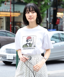 NAIJEL GRAPH × Ray BEAMS / 別注 GIRL Tシャツ◇