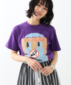 <WOMEN>FUJI ROCK FESTIVAL'18 × Ray BEAMS / Takeuchi Shuntaro Rain Tシャツ
