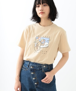 <WOMEN>FUJI ROCK FESTIVAL'18 × Ray BEAMS / Kaneyasu Ryo Tシャツ