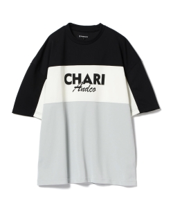 Chari&Co. × Ray BEAMS /別注 MOTO短袖T恤