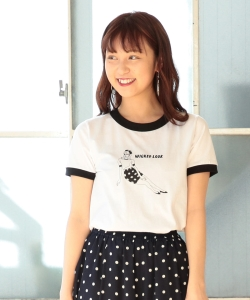 SHO MIYATA × Ray BEAMS / 別注 Wicked Look Tシャツ