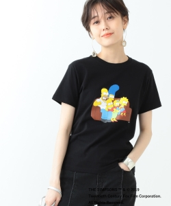 THE SIMPSONS / FAMILY Tシャツ<BLACK>