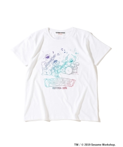 <WOMEN>FUJI ROCK FESTIVAL'19 × Ray BEAMS / SESAME STREET 3ピース Tシャツ