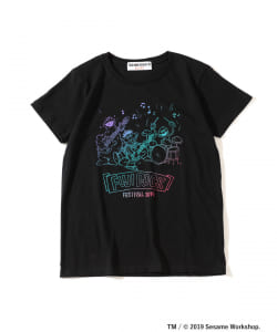 【予約】<WOMEN>FUJI ROCK FESTIVAL'19 × Ray BEAMS / SESAME STREET 3ピース Tシャツ