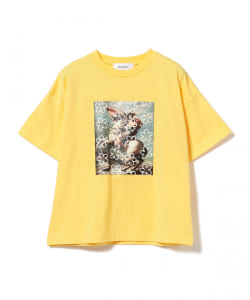 MUVEIL /  プリント Tシャツ●