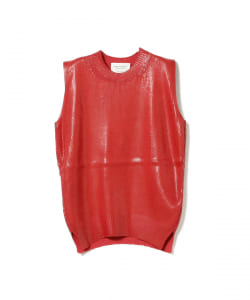 beautiful people / Glossy Knitting Tank Top●