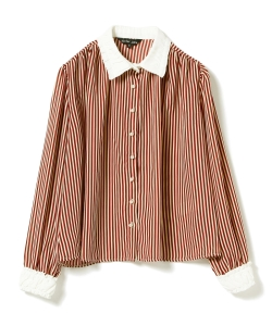 sister jane / Stripe Blouse
