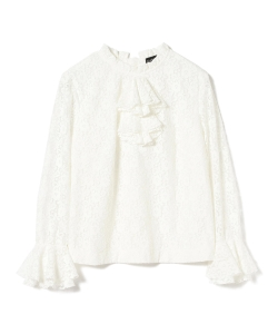 sister jane / Lepidoptera Lace Blouse