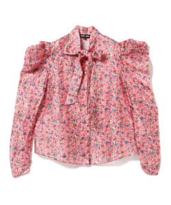 sister jane / Floral Bow Shirt