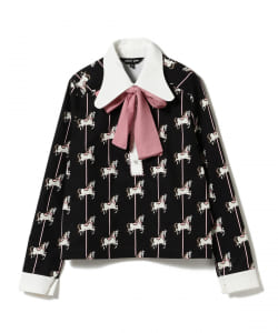 sister jane / Retro Collar Blouse