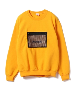 【7/12~再値下げ】VEIL / Mesh Pocket Sweat