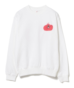 VEIL / Print Sweat White