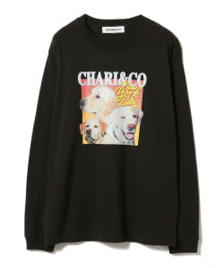 Chari&Co × Ray BEAMS / 別注 女裝 DOG T恤
