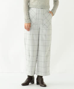 【アウトレット】GHOSPELL / Brief Check Trouser Pants
