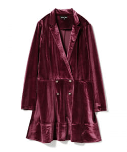 【アウトレット】sister jane / Velvet Blazer Dress