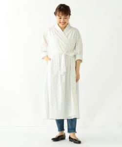 【アウトレット】GHOSPELL / Moonlight Midi Wrap Dress