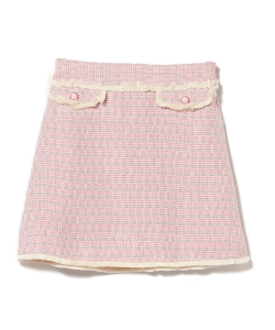 sister jane / Tweed Mini Skirt