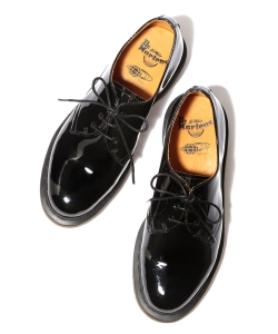 Dr.Martens×Ray BEAMS / 別注3孔漆皮鞋