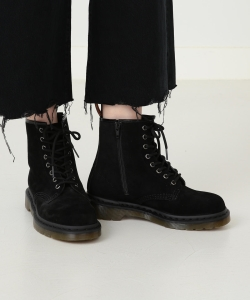 Dr.Martens × Ray BEAMS / 8孔麂皮高筒鞋